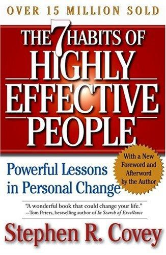 The 7 Habits of Highly Effective Peopleby Stephen Covey