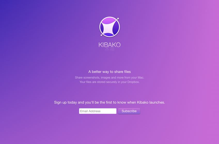 Kibako Offers A Better Way To Share Files!
