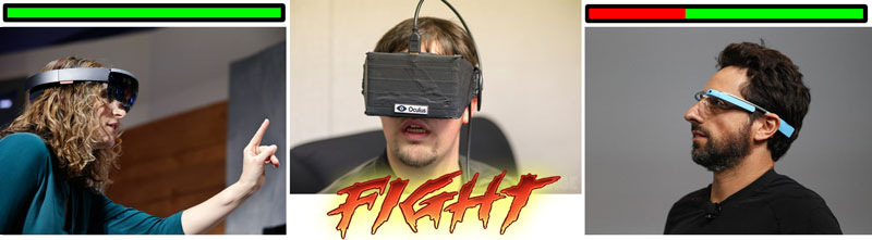 HoloLens vs. Oculus Rift