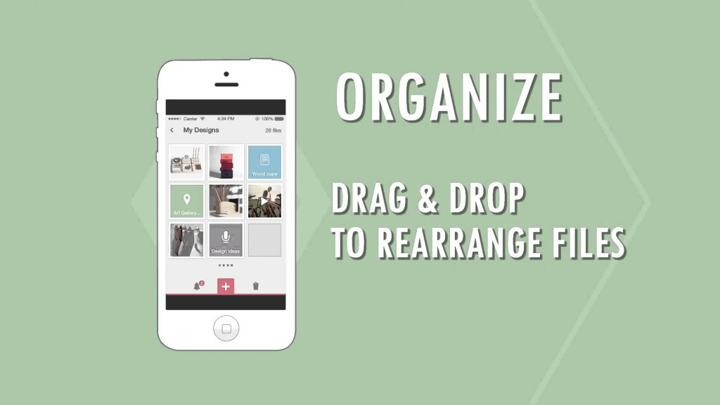 ClipUp Lets You Store & Organize Your Ideas & Projects!