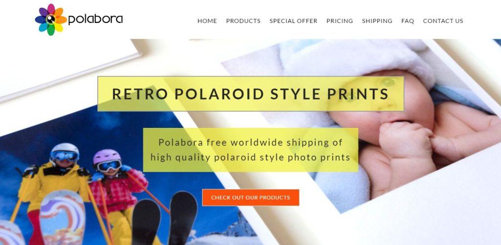 With Polabora Get Photos Printed Retro Style!