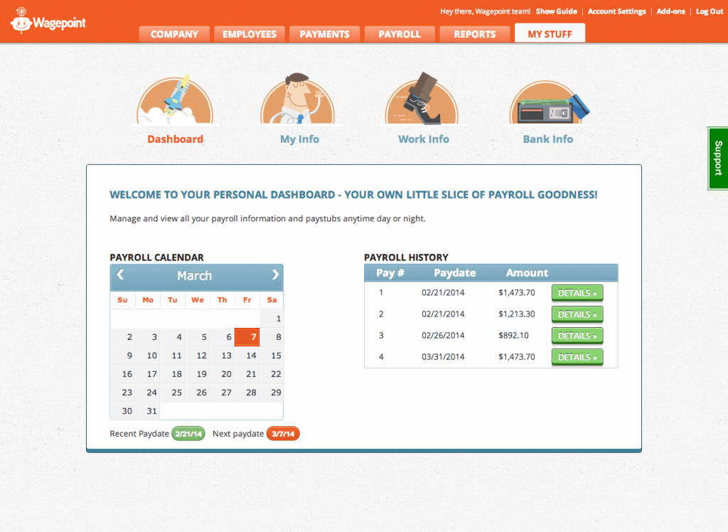 Payroll Made Easy With Wagepoint!
