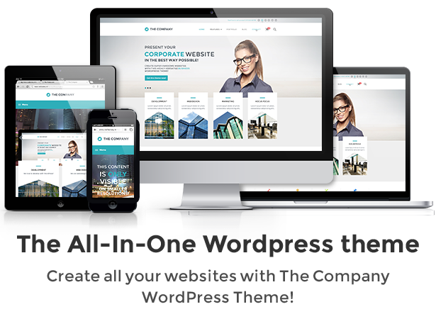 the company business wordpress theme