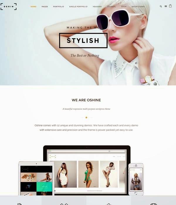 Oshin-WordPress-Theme