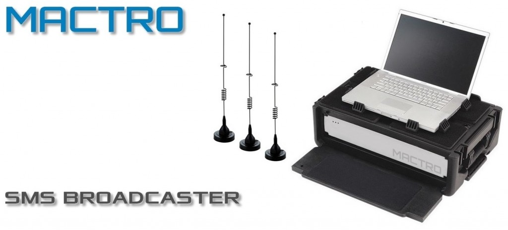 MACTRO TECHNOLOGY offers a product called Mactro SMS Broadcaster.