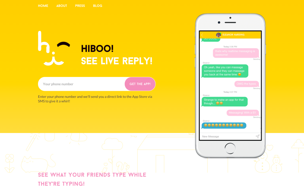 Hiboo-Screenshot-Landing-Page